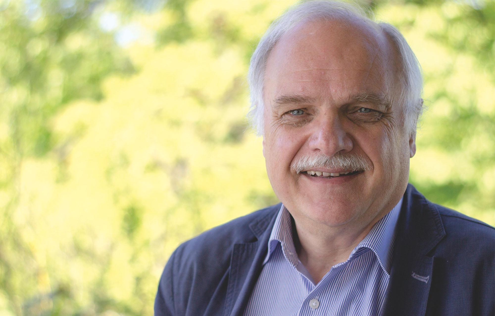 Horst Niesyto; Portraitfoto (2017); Foto: Daniel Trüby