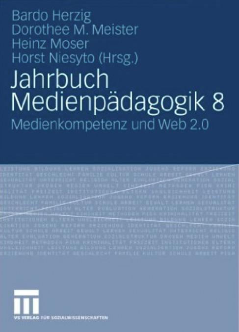 Cover Jahrbuch Medienpädagogik 8 (Herzig, Meister, Moser, Niesyto 2009)