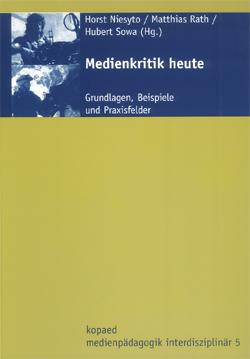 """Cover Sammelband """"Medienkritik heute"""" (Niesyto, Rath & Sowa 2006)"""
