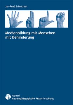 Jan-René Schluchter (2010): Medienbildung mit Menschen mit Behinderung. Schriftenreihe Medienpädagogische Praxisforschung, Band 5. München: kopaed.