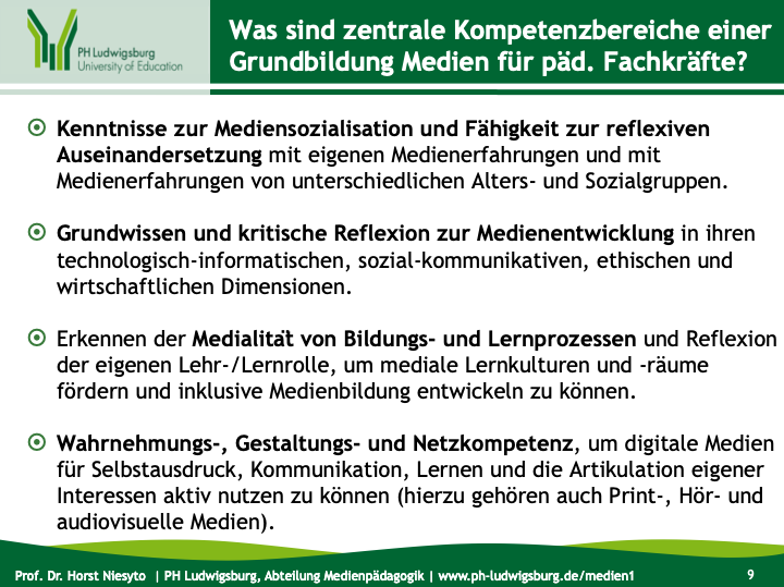 Folie aus dem Vortrag von Horst Niesyto auf dem GMK-Fachtreffen 2014 in Stuttgart