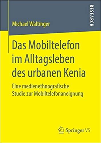 Titelseite der veröffentlichten Dissertation von Michael Waltinger (2019)